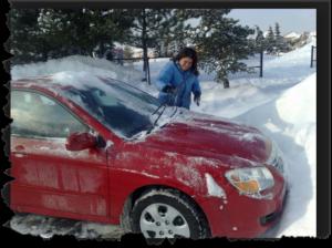 угон автомобиля в зимнее время