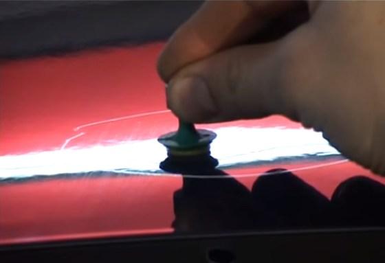 ремонт вмятин без покраски